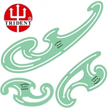 Régua Francesa Trident