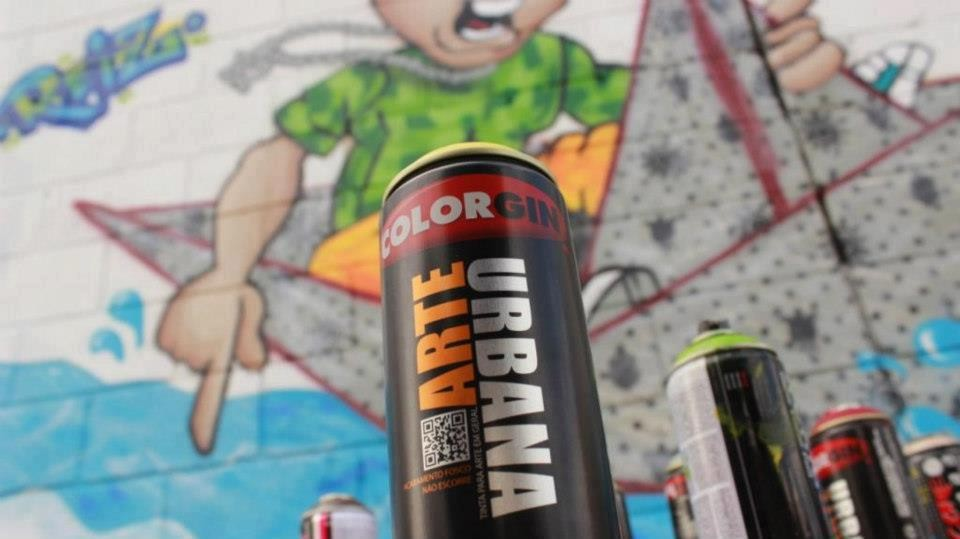 Spray Arte Urbana Colorgin