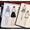 Canetas Para Desenho de Moda