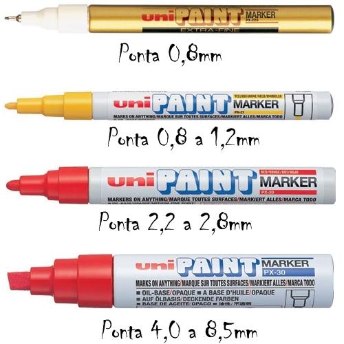 caneta-uni-paint-px