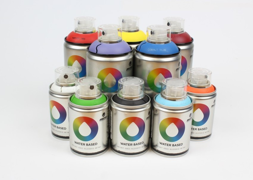 tinta spray acrilica 300ml 100ml