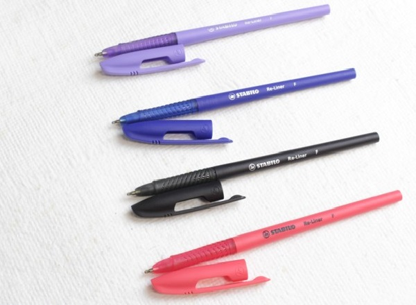 caneta stabilo esferografica fina