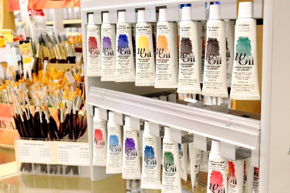 tinta oleo base agua