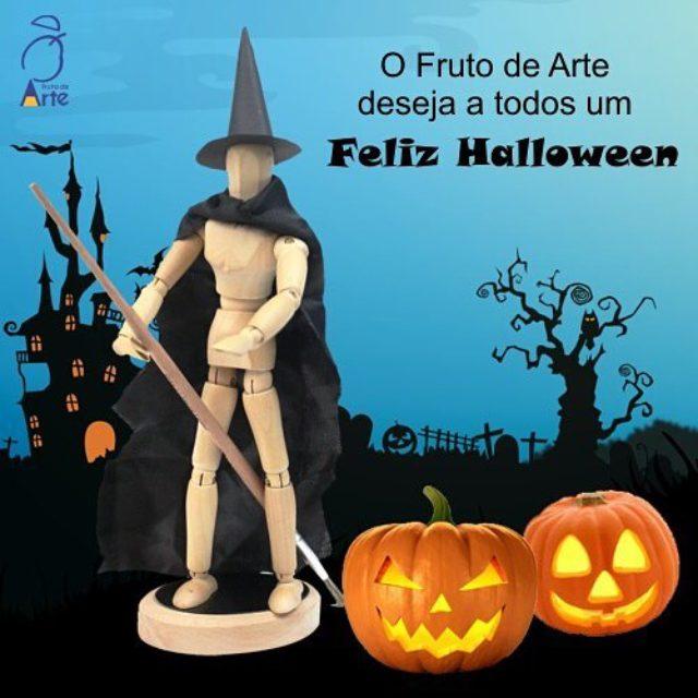 O Fruto de Arte deseja a todos um Feliz Halloween!hellip