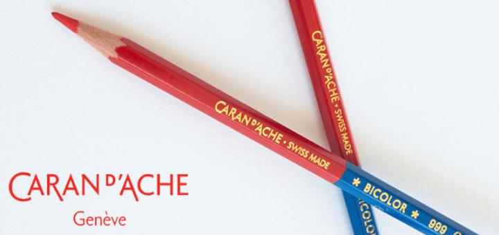 Lápis Bicolor Caran d'Ache