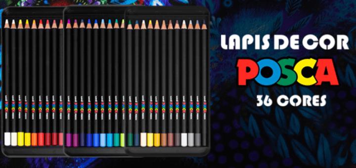 Lápis de Cor Posca